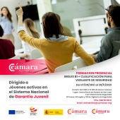 Nuevo curso presencial para Jóvenes activos en el Sistema nacional de Garantía Juvenil