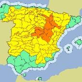 La AEMET activa la alerta naranja ante la llegada de una DANA que dejará fuertes tormentas generalizadas