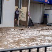 La DANA ocasiones daños, inundaciones y caos en varios puntos de la Península