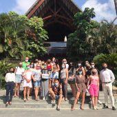 Visita de agentes al hotel Asia Gardens