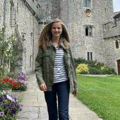La princesa Leonor, en el UWC Atlantic College de Gales.