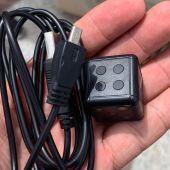Dispositivo con el que el detenido grababa a mujeres en la playa de Arenales el Sol de Elche.