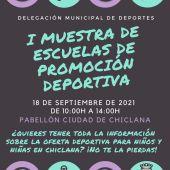 Cartel del evento que se celebrará en Chiclana