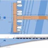 El nuevo embarcadero en El Anillo posibilitará el funcionamiento de un barco turístico aguas arriba del Gabriel y Galán