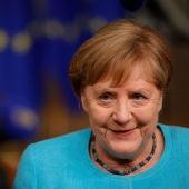 """Persona física y un señor de Murcia: Angela Merkel, la jubilada """"number one"""""""
