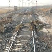 Los daños también han afectado a otras líneas de tren, como al AVE Madrid-Toledo