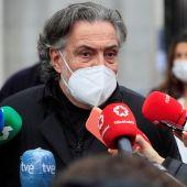 El portavoz del PSOE en el Ayuntamiento de Madrid, Pepu Hernández