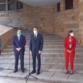 Pedro Sánchez pide en Gijón el apoyo del parlamento para la ley de FP