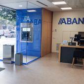 Cierre de oficinas bancarias en el rural. Imagen: redes sociales ABANCA