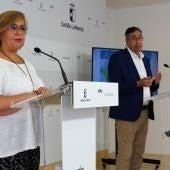 Carmen Olmedo y José Caro