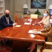 Lambán se ha reunido con la Ministra Sánchez en Madrid