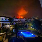 Incendio Sierra Bermeja