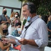Carlos Alsina preguntando a estudiantes de la Universidad Nebrija