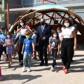 Visita de la Reina Letizia al CEIP Odón de Buen