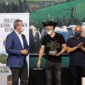 Ganador del concurso de queso de Ordizia