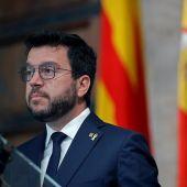 El presidente de la Generalitat, Pere Aragonès, en una foto de archivo