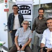 Borja Sémper, Edu Madina y David Trueba en 'La ínsula'