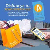 Cartel de la campaña Bono Comercio
