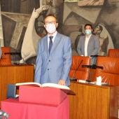 Pablo Toledano jura su cargo como nuevo diputado provincial del PP