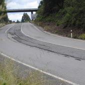 O Parlamento galego require o arranxo da estrada N-540 entre Lugo e Ourense