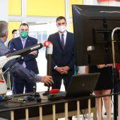 Visita de Pedro Sánchez al Centro de FP La Laboral (Gijón)