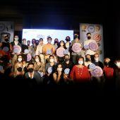 Premiados en los Premios TopCreation de la Diputación de Alicante.