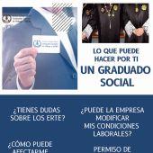 Vuelve la cita presencial para el Servicio Gratuito de Orientación Jurídico Laboral de Graduados Sociales