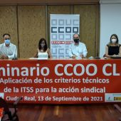 Seminario de CCOO celebrado en Ciudad Real
