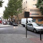 Tráfico en la zona centro de Ciudad Real