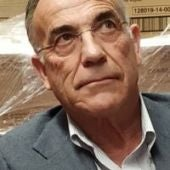 Rufo Sanz ,presidente del Banco de Alimentos de Segovia