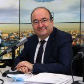 Miquel Iceta, ministro de Cultura y Deporte, en 'Más de uno'