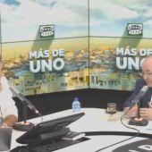 El ministro de Cultura, Miquel Iceta, en Más de uno, con Carlos Alsina