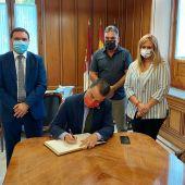 Martínez Arroyo en la Diputación de Cuenca