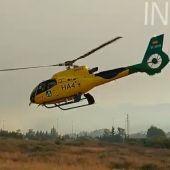 Helicóptero Sierra Bermeja