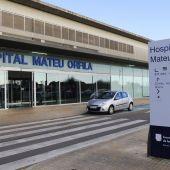Imagen de archivo del hospital Mateu Orfila de Maó.