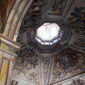 Interior de la casa que fue vivienda del fotógrafo Jena Laurent en Alcalá de Henares