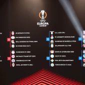 Así quedan los grupos de la Liga Europa con la presencia de Betis y Real Sociedad