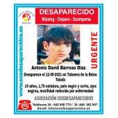 Antonio David Barroso, el menor con discapacidad desaparecido en Morón de la Frontera