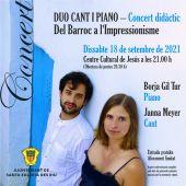 Un viaje por las diferentes épocas de la música clásica en el concierto 'Del Barroc a l'Impressionisme'