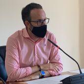 Héctor Díez, portavoz de la Junta de Gobierno Local del Ayuntamiento de Elche.