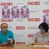 CCOO muestra su preocupación el desempleo en Almansa que tiene una tasa superior  a la media nacional