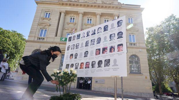 Homenaje en Vitoria a las víctimas de Henri Parot