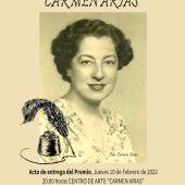 El XIII Certamen Nacional de Poesía Carmen Arias entregará un único premio de 1.500 Euros