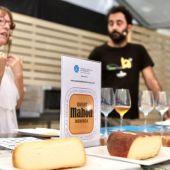 El queso Mahón-Menorca no ha faltado a la cita gastronómica.