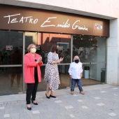 El auditorio de Alcázar ya lleva el nombre del actor Emilio Gavira