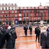 La Plaza Mayor acoge los actos centrales del día de la Policía