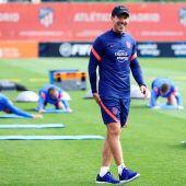 """Simeone: """"Siempre espero más de todos mis futbolistas"""""""