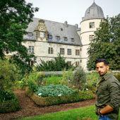 Luis Tobajas en el Castillo de Wewelsburg
