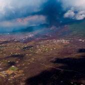 El estado será el propietario de los nuevos terrenos generados por la lava en La Palma