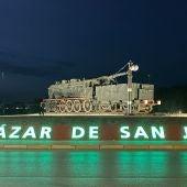 El Ayuntamiento, los molinos y la rotonda de la Avenida Adolfo Suárez se iluminarán mañana de color verde